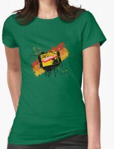Graffiti Cartridge Womens Fitted T-Shirt