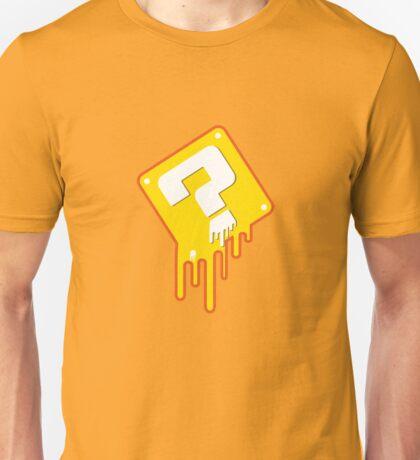Melting Question Block Unisex T-Shirt