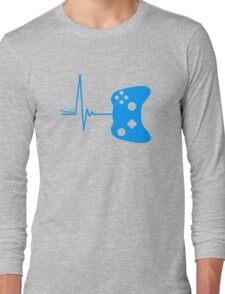 Gamer Heart Beat Long Sleeve T-Shirt