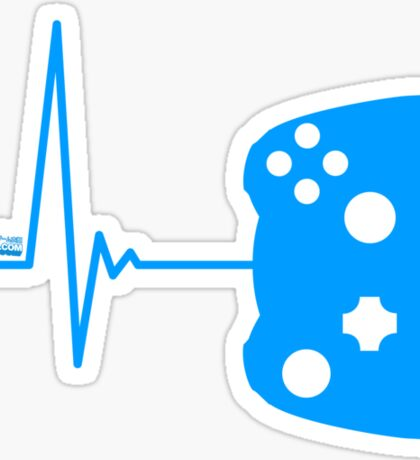 Gamer Heart Beat Sticker