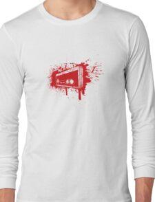 Retro Pad Graffiti Long Sleeve T-Shirt