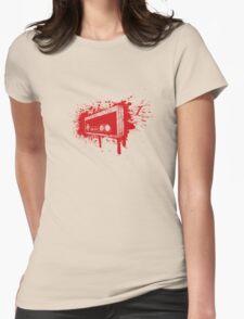 Retro Pad Graffiti Womens T-Shirt