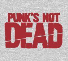 Punk's Not Dead One Piece - Short Sleeve