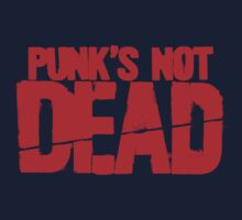 Punk's Not Dead One Piece - Short Sleeve
