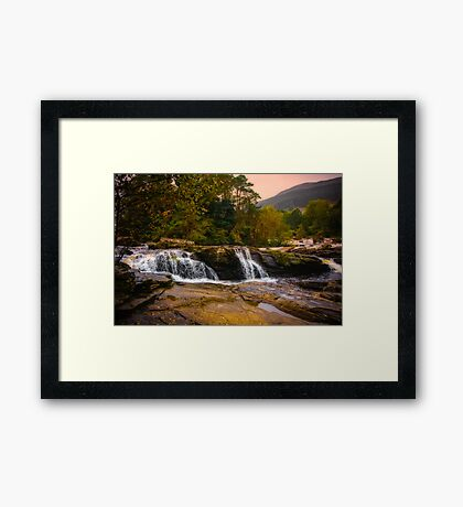Falls of Dochart Scotland 2 Framed Print