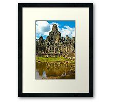 Ankhor Thom Temple Framed Print