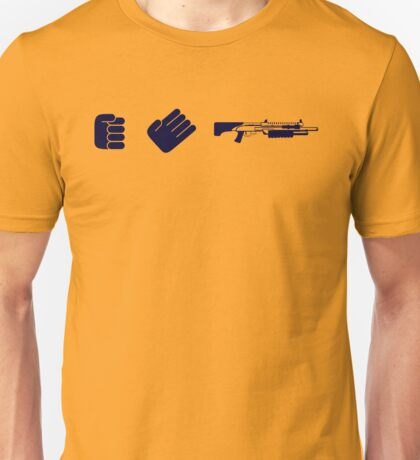 Rock Paper Shotgun Unisex T-Shirt