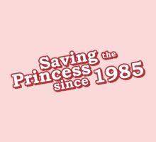 Saving The Princess Since 1985 Baby Tee