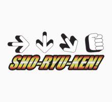 Sho Ryu Ken Kids Clothes
