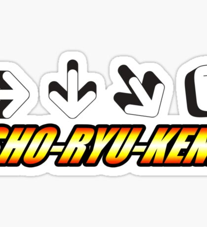 Sho Ryu Ken Sticker