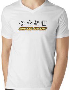 Shin-Sho-Ryu-Ken Mens V-Neck T-Shirt