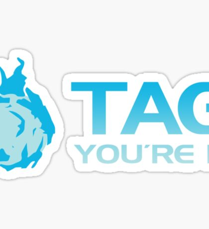 Tag, You're It Sticky Grenade Sticker
