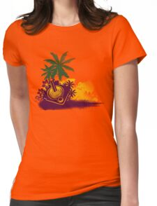 Summer Gaming Womens Fitted T-Shirt