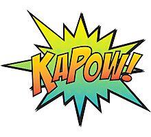 KAPOW! Photographic Print