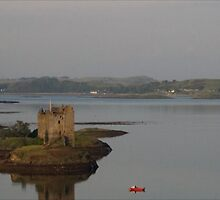 Castle Stalker, Scotland. Came around the corner and there it was. Very special. by Graeme Rouillon