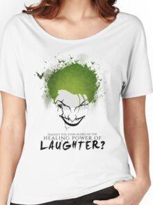 """Joker """"Healing power of laughter"""" Women's Relaxed Fit T-Shirt"""