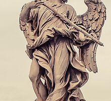 Bridge of Angels, Rome - Italy by RichardPhoto