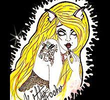 Kitty Brooker Logo- I phone Cases by kittybrooker