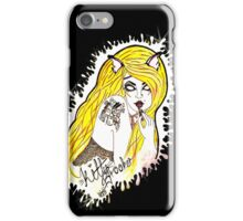 Kitty Brooker Logo- I phone Cases iPhone Case/Skin