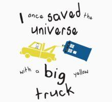 Big yellow truck by GingerJohn