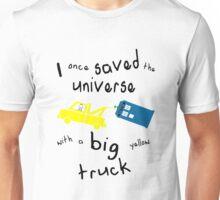 Big yellow truck Unisex T-Shirt