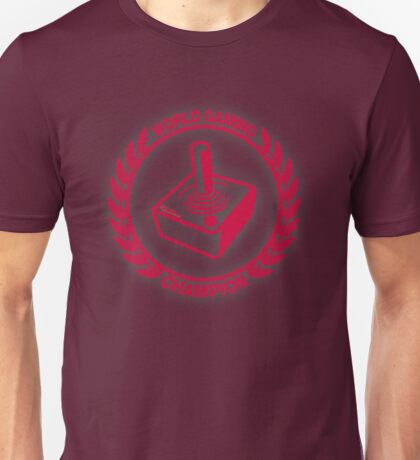 World Gaming Champion Unisex T-Shirt
