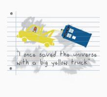 Big yellow truck 2 by GingerJohn