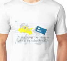 Big yellow truck 2 Unisex T-Shirt