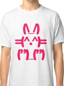Ascii Bunny Classic T-Shirt