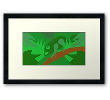 Chameleon-ness Framed Print