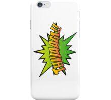 THWAAM!! iPhone Case/Skin