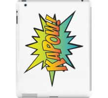 KAPOW! iPad Case/Skin