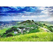 Ptikent village painting Photographic Print
