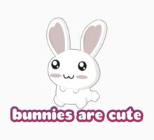 Bunnies are cute! by rabbitbunnies