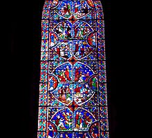 Stained glass window by Chris-Cox