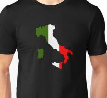 Map of Italy Unisex T-Shirt