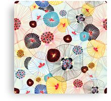 abstract pattern Canvas Print