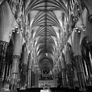 Inside Lincoln Cathedral by Chris-Cox