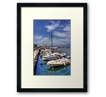 Palaio Limani Framed Print