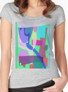 Reminiscence of a Park Women's Fitted Scoop T-Shirt
