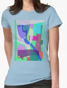 Reminiscence of a Park Womens Fitted T-Shirt
