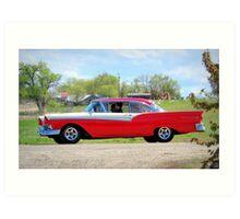 Prom Chariot...57 Ford Fairlane 500 Art Print