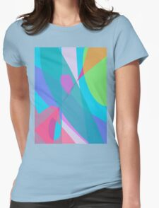 Communication in the Sky Womens Fitted T-Shirt