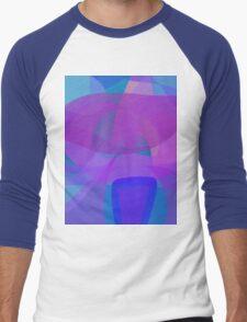 Blue Stool Men's Baseball ¾ T-Shirt