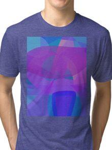 Blue Stool Tri-blend T-Shirt