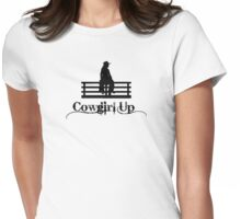 Cowgirl Up Womens Fitted T-Shirt