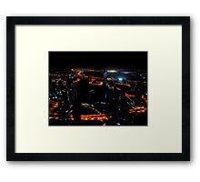 View from the JW Marriott Marquis Dubai Hotel Framed Print