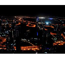 View from the JW Marriott Marquis Dubai Hotel Photographic Print