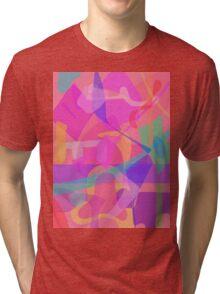 Jigsaw Puzzle Tri-blend T-Shirt