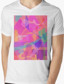 Jigsaw Puzzle Mens V-Neck T-Shirt